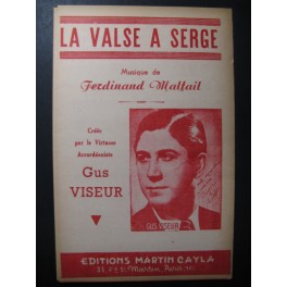 La Valse à Serge Gus Viseur Accordéon