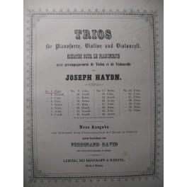HAYDN Joseph Trio G dur Piano Violon Violoncelle ca1850