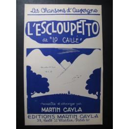L'Essloupetto Auvergne Martin Cayla Accordéon
