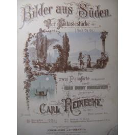 REINECKE Carl Gondoliera 2 Pianos 4 mains XIXe