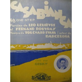 TOLCHARD EVANS Casabianca Chant Piano 1929