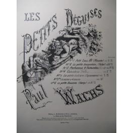 WACHS Paul Pastoureaux et Pastourelles Piano 1935