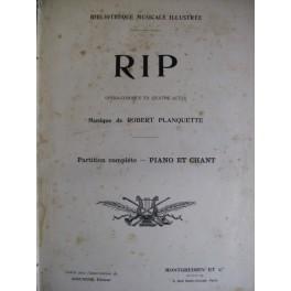 PLANQUETTE Robert RIP