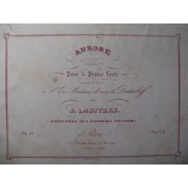 LABITZKY Joseph Aurore Piano XIXe