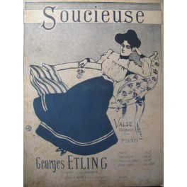 ETLING Georges Soucieuse Burret Piano