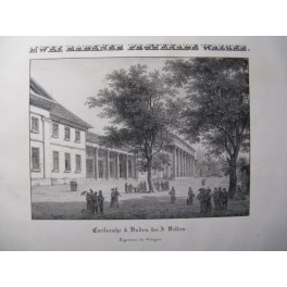Zwei Badener Promenade Walzer Piano XIXe