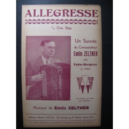 Allegresse Emile Zeltner Accordéon