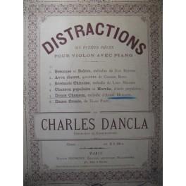 MESSAGER André Douce Chanson Violon Piano 1895