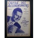 Défilé des Accordéonistes Verchuren Accordéon 1955