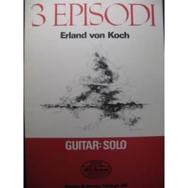VON KOCH Erland 3 Episodi Guitare 1977