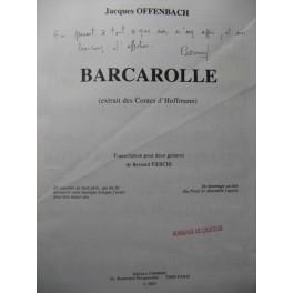 OFFENBACH J. Barcarolle 2 Guitares 1994