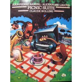 BOLLING RAMPAL LAGOYA Picnic Suite Piano Flute Guitare 1980