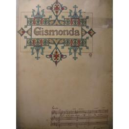 FÉVRIER Henry Gismonda Opera 1919