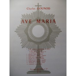 GOUNOD Charles Ave Maria Chant Orgue ou Piano
