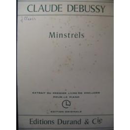 DEBUSSY Claude Minstrels Piano 1972