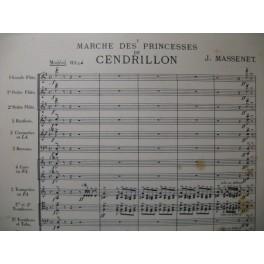 MASSENET Jules Marche des Princesses Orchestre 1899