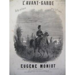 MONIOT Eugène L'Avant Garde Piano 1866