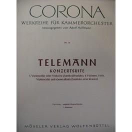 TELEMANN Konzertsuite Orchestre