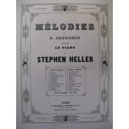 SCHUBERT Franz La Sérénade Piano ca1840