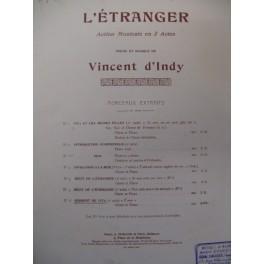 D'INDY Vincent Serment de Vita Chant Piano