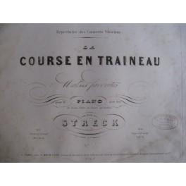STRECK P. Course en Traineau Valses