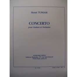 TOMASI Henri Concerto Piano Guitare 1993
