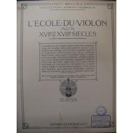 NARDINI Pietro Adagio Violon Piano 1925