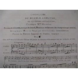 SOLIÉ La Femme Acariâtre Chant Piano ou Harpe ca1810