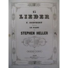 SCHUBERT Franz La Chanson des Chasseurs Piano ca1845