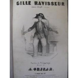 GRISAR Albert Gille Ravisseur Opera ca1850
