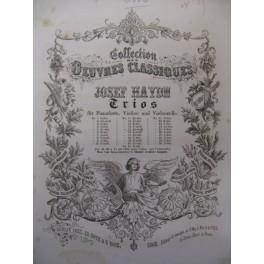 HAYDN Joseph Trio n° 15 Piano Violon Violoncelle ca1855