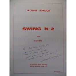 BONDON Jacques Swing n° 2 Guitare 1973