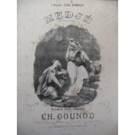 GOUNOD Charles Medjé Chant Piano ca1865