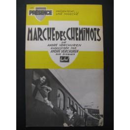 Marche des Cheminots & Avec Avec André Verchuren 1960
