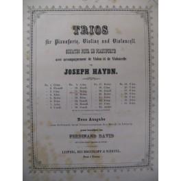 HAYDN Joseph Trio n°11 Es dur Piano Violon Violoncelle ca1850