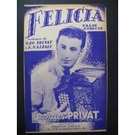 Felicia Georges Privat Accordéon