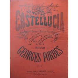 FORBES Georges Castellucia Piano ca1870