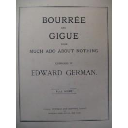 GERMAN Edward Bourrée et Gigue Orchestre 1902
