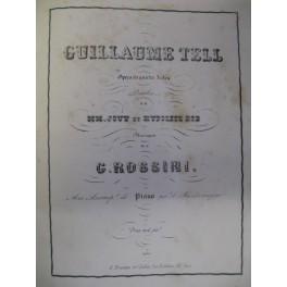 ROSSINI Gioachino Guillaume Tell