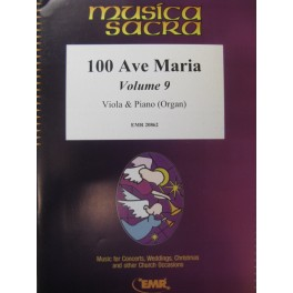 100 Ave Maria Vol 9 Alto Piano Orgue