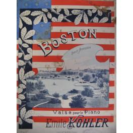 KÖHLER Emile Boston Danse Américaine