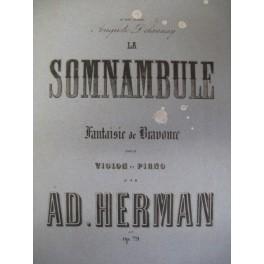 HERMAN Adolphe La Somnambule op. 79 1865