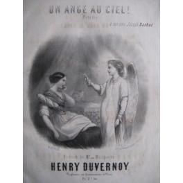 DUVERNOY Henri Un Ange au Ciel !