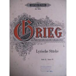 Grieg E. Lyrische Stücke H. IX Op. 68