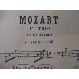 MOZART W. A. Trios 1 à 7 Violoncelle