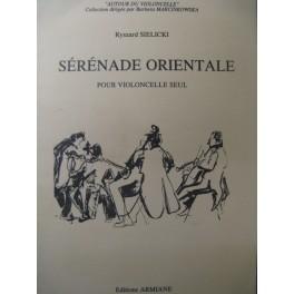 SIELICKI Ryszard Sérénade Orientale Violoncelle 1999