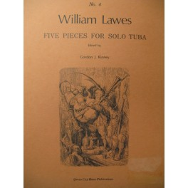 LAWES William 5 Pièces Tuba 1981