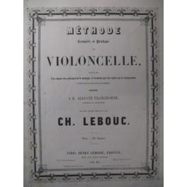 LEBOUC Charles Méthode de Violoncelle ca1868