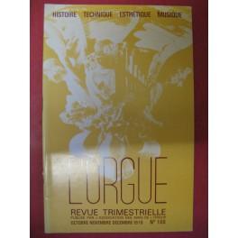 L'ORGUE Revue N° 168 Octobre Décembre 1978