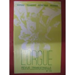 L'ORGUE Revue N° 170 Avril Juin 1979